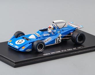 Matra-Simca MS 120B no.12, Italy GP (1971), blue
