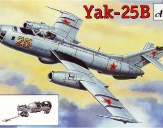Сборная модель Советский бомбардировщик Як-25Б