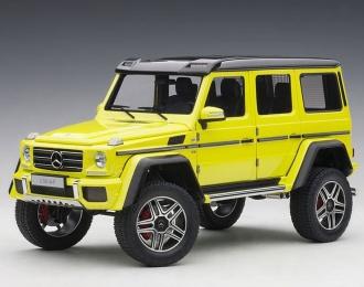 Mercedes-Benz G500 4X4² 2016 (yellow)