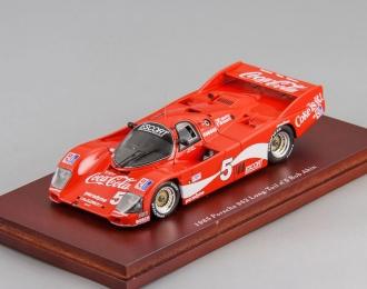 Porsche 962 #5 Coca-Cola long tail 1985 Bob Akin - John O`Steen