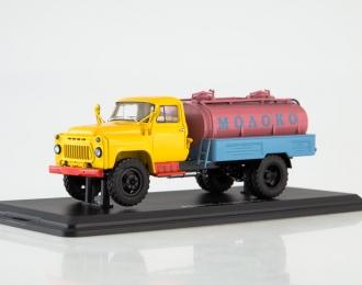 АЦПТ-3,3 (53) Молоко Автоэкспорт, желтый / розовый / голубой