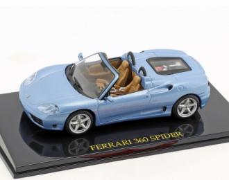 Ferrari 360 Spider, blue