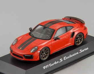 PORSCHE 911 Turbo S Exclusive Series (red)