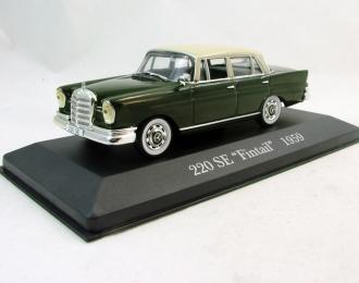 MERCEDES-BENZ 220 SE Fintail (1959), Mercedes-Benz Offizielle Modell-Sammlung 16, зеленый