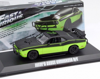 "(Уценка!) DODGE Challenger SRT-8 Movie ""Fast & Furious 7"" (2014), green"
