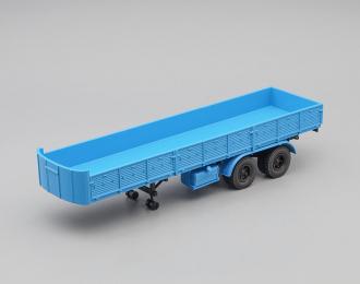 МАЗ 5205 полуприцеп, синий