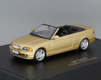 BMW 3er Cabrio, gold