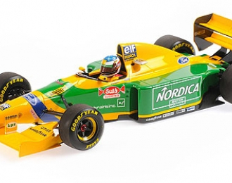 BENETTON FORD B193 - MICHAEL SCHUMACHER - WINNER PORTUGAL GP 1993