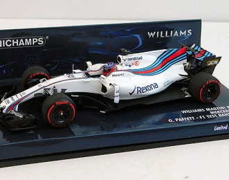 WILLIAMS MARTINI RACING MERCEDES FW40 - GARY PAFFETT - TEST F1 BAHRAIN 2017