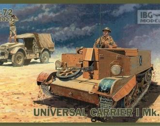 Сборная модель Британский гусеничный транспортер Universal Carrier I Mk.I
