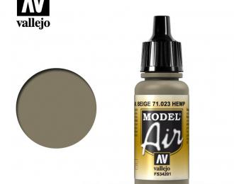 Краска акриловая `Model Air` Комуфляжный бежевый /Hemp