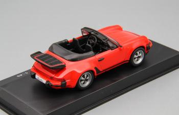 PORSCHE 911 Turbo Cabrio, red