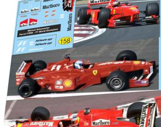 Набор декалей Formula 1 №31 - Ferrari F399