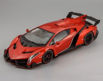 LAMBORGHINI Veneno, metallic red