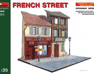 Сборная модель Наборы для диорам FRENCH STREET