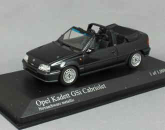 OPEL KADETT GSI CABRIOLET - 1989 - BLACK
