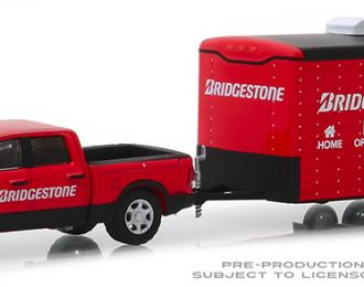 """RAM 2500 Big Horn с прицепом """"Bridgestone Service Center"""" Enclosed Car Hauler 2017"""