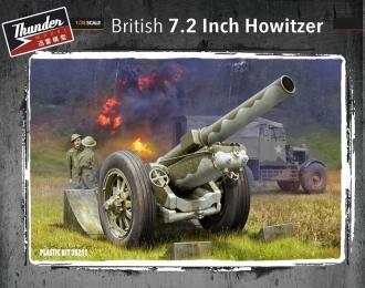"""Сборная модель Британская 7,2"""" гаубица"""