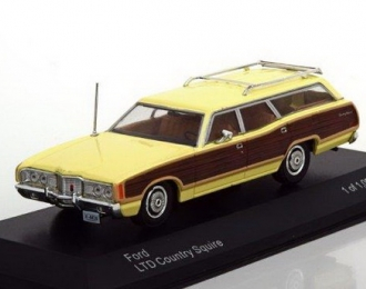 FORD LTD Country Squire 1972 Light Yellow/Brown