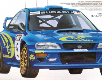 Сборная модель SUBARU Impreza WRC'99