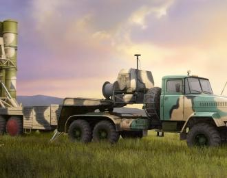 Сборная модель Российский тягач КрАЗ-260Б с ЗРК С-300ПМУ