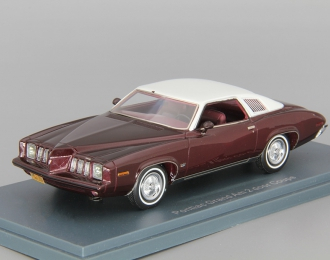 PONTIAC Grand Am Coupe (1973), red metallic grey