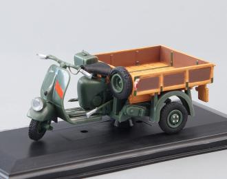 Ape A125 Cassoncino Aperto 2a Serie (1949), green