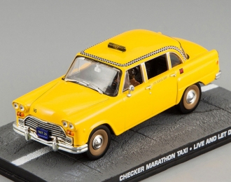 CHECKER Marathon Taxi JAMES BOND 007 Live and let die, yellow