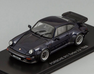 PORSCHE 911 Turbo 3.3 (1988), dark blue