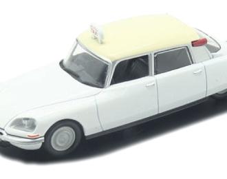 CITROEN DS 19 Paris (1968), Taksowki Swiata 6, white