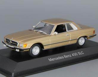 MERCEDES-BENZ 450 SLC W107, gold metallic