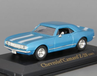 CHEVROLET Camaro Z-28 (1967), blue