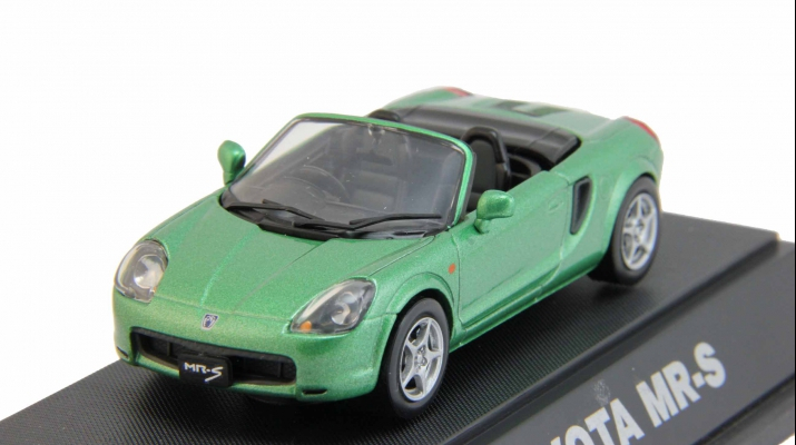 TOYOTA MR-S open, green