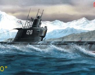 """Сборная модель подводная лодка """"Проект 633"""" submarine ROMEO"""