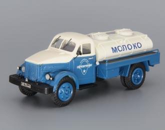 АЦПТ-2,1А Молоко на шасси Горький 51А, голубой / белый