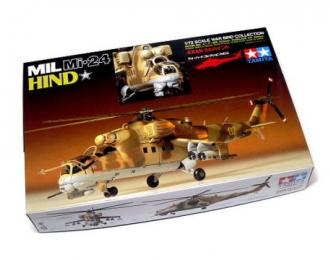 Сборная модель Mi-24 Hind