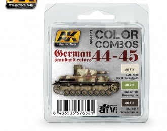 GERMAN STANDARD 44-45 COLOR COMBO (набор из трёх красок)