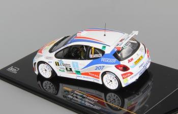 PEUGEOT 207 S2000 №1 S.Sarrazin-J.Renucci Rally Casinos Algarve (2007), white
