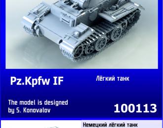Сборная модель Немецкий лёгкий танк Pz.Kpfw. IF