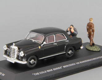 "MERCEDES-BENZ 180 Bundesnachrichtendienst ""The cold war series"", black"