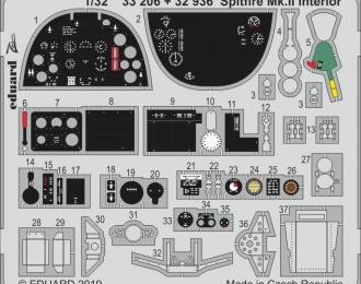 Фототравление для Spitfire Mk. II интерьер