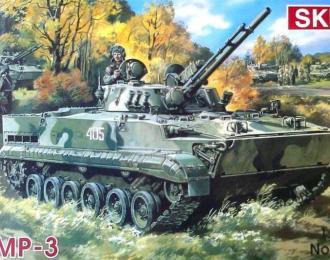 Сборная модель БМП-3 российское современное противопехотное средство