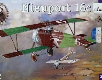 Сборная модель Французский истребитель Nieuport 16c