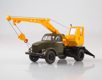 Автокран К-2,5-1Э (51), хаки / желтый