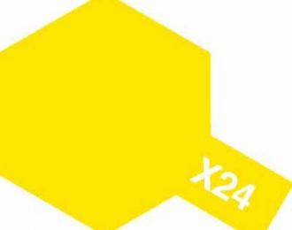 X-24 Clear Yellow (краска эмалевая, прозрачно-желтый глянцевый), 10мл.