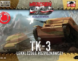 Сборная модель Разведывательная танкетка ТК-3