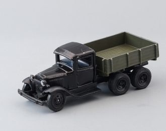 Горький-ААА бортовой, черный / зеленый