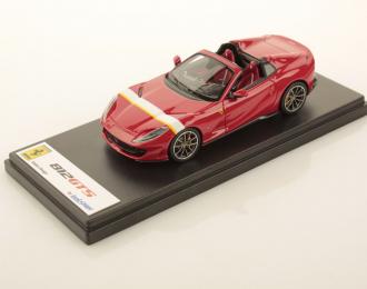 Ferrari 812 GTS (Rosso Corsa with White/Yellow Livery)