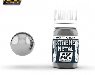 XTREME METAL CHROME 30мл (металлик, хром)