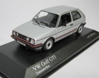 VOLKSWAGEN Golf GTI (1985), silver